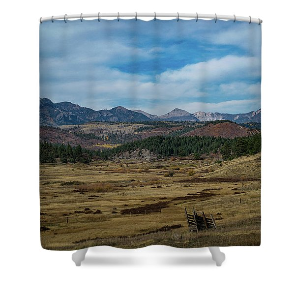Shower Curtain featuring the photograph Pure Isolation by Jason Coward