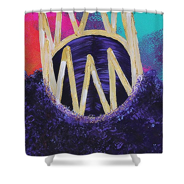 Purple Reign  Shower Curtain