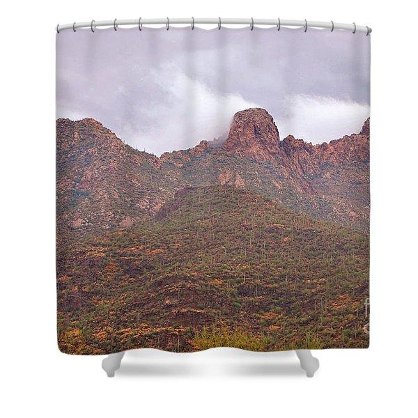 Pusch Ridge Tucson Arizona Shower Curtain