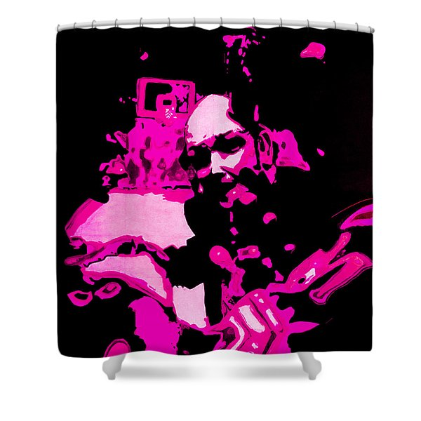 Put Me In - Pink Ranger Remix Shower Curtain