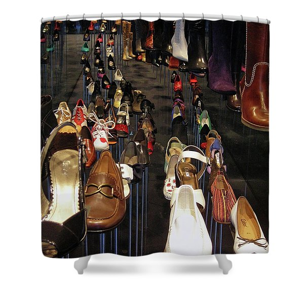 Put Your Shoes ... Shower Curtain