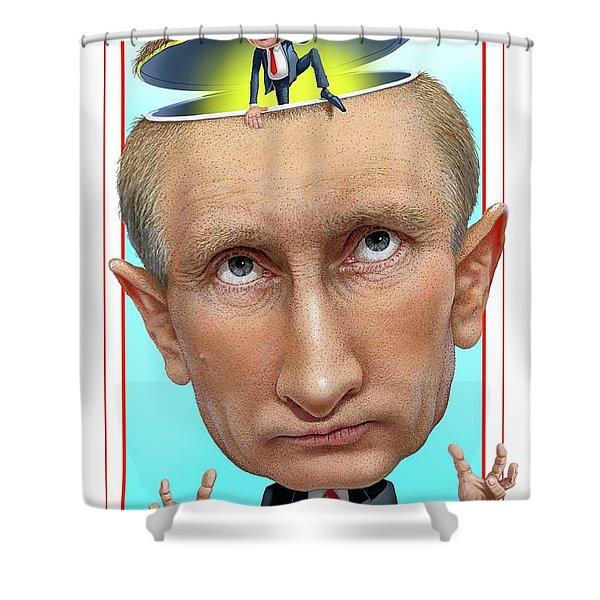 Putin 2016 Shower Curtain