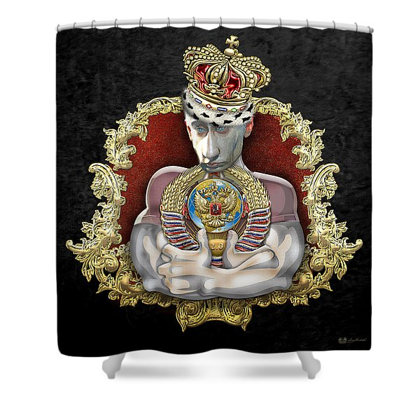 Putin's Dream - Ussr 2.0 Shower Curtain