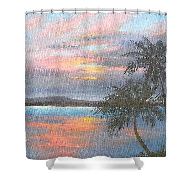 Pv Skies  Shower Curtain