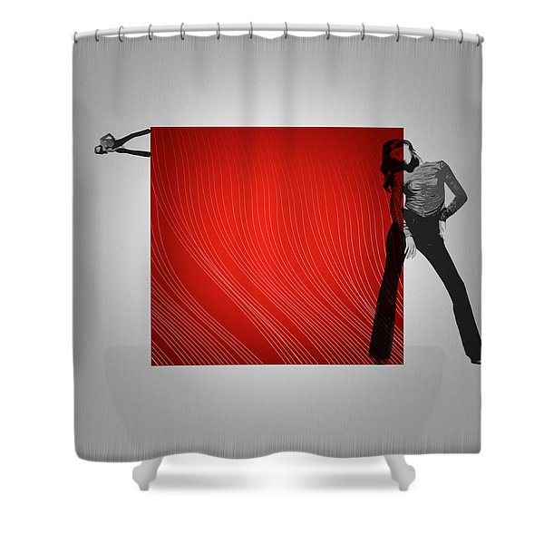 Quad Shower Curtain