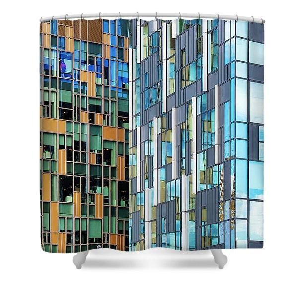 Quadrilaterals Shower Curtain