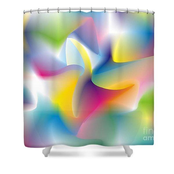 Quantum Landscape 4 Shower Curtain