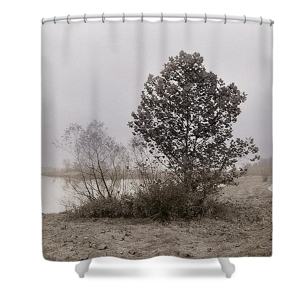 Quarry Lake Shower Curtain