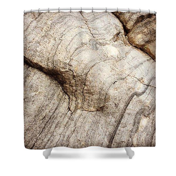 Quartzite Elephant Shower Curtain