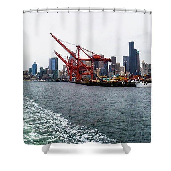 Queen City Shower Curtain