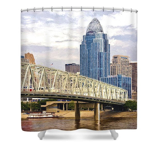 Queen City - Van Gogh Shower Curtain