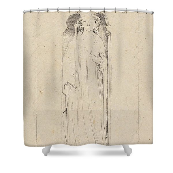 Queen Eleanor, From Waltham Cross Shower Curtain