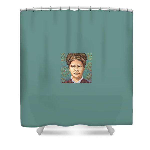 Queen Liliuokalani Shower Curtain