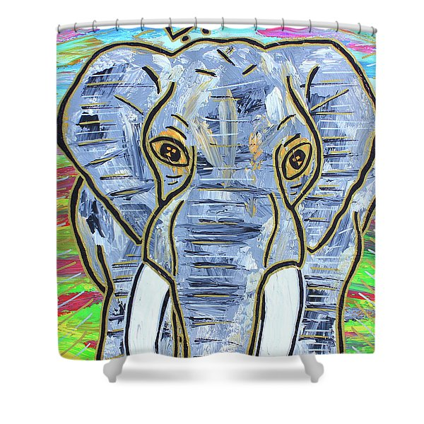 Queen Of The Jungle Shower Curtain