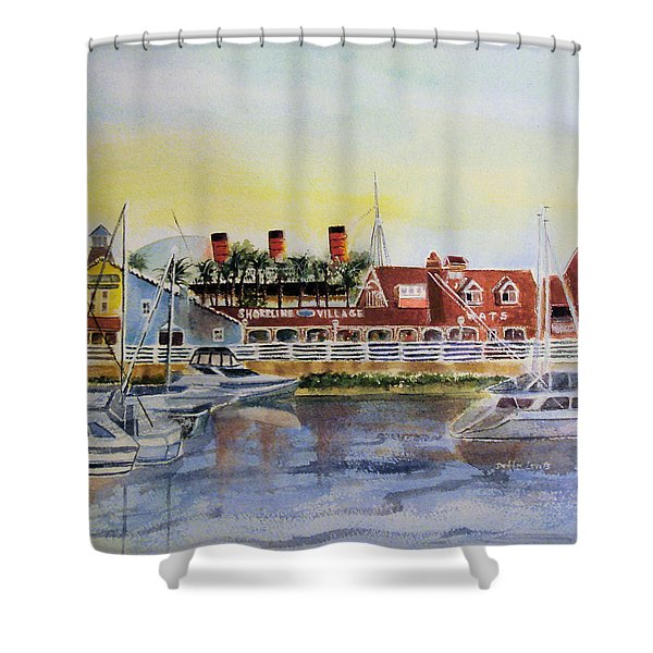 Queen Of The Shore Shower Curtain