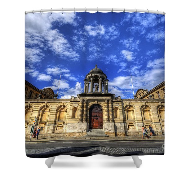 Queens College - Oxford Shower Curtain