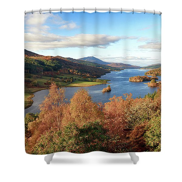 Queens View Shower Curtain