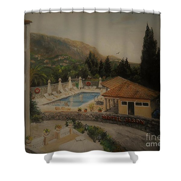 Quiet And Sunny Shower Curtain