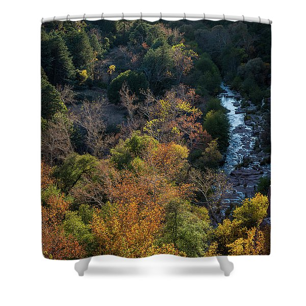 Quiet Canyon Shower Curtain