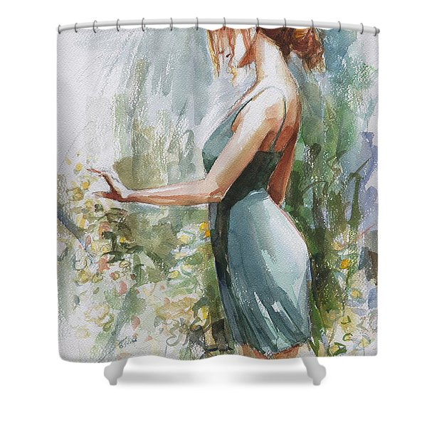 Quiet Contemplation Shower Curtain