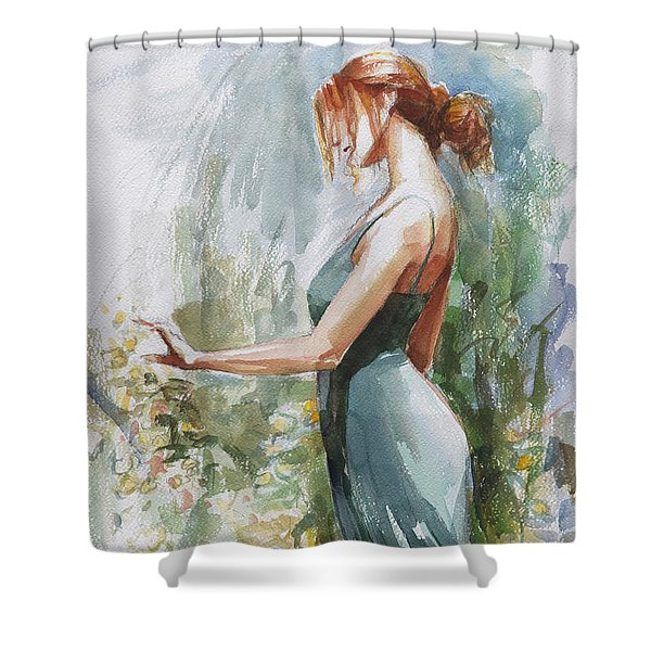 Quiet Contemplation Shower Curtain