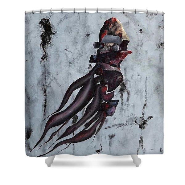 Quiet Desperation Shower Curtain
