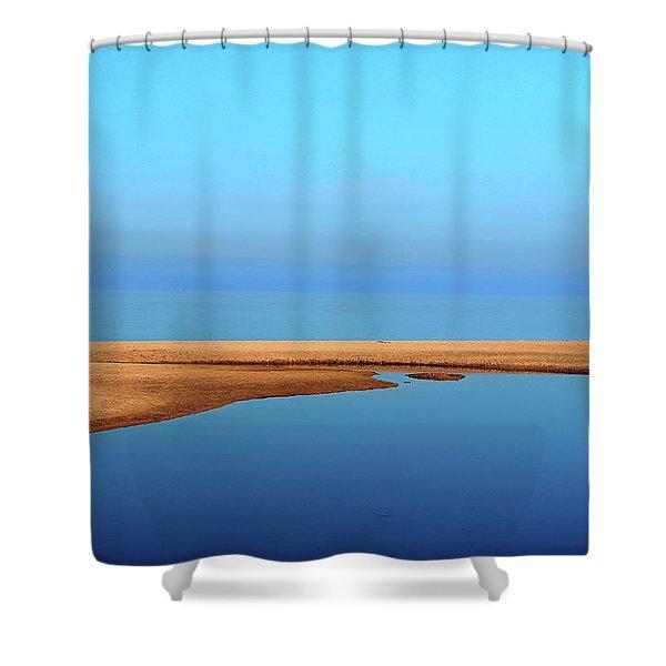 Quiet Morning Shower Curtain