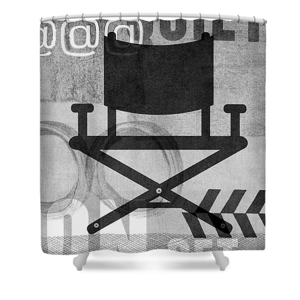 Quiet On Set- Art By Linda Woods Shower Curtain