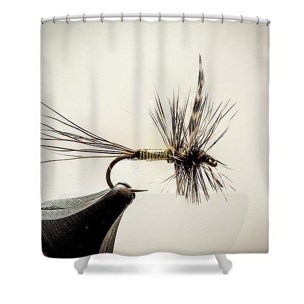 Quill Body Mayfly Shower Curtain