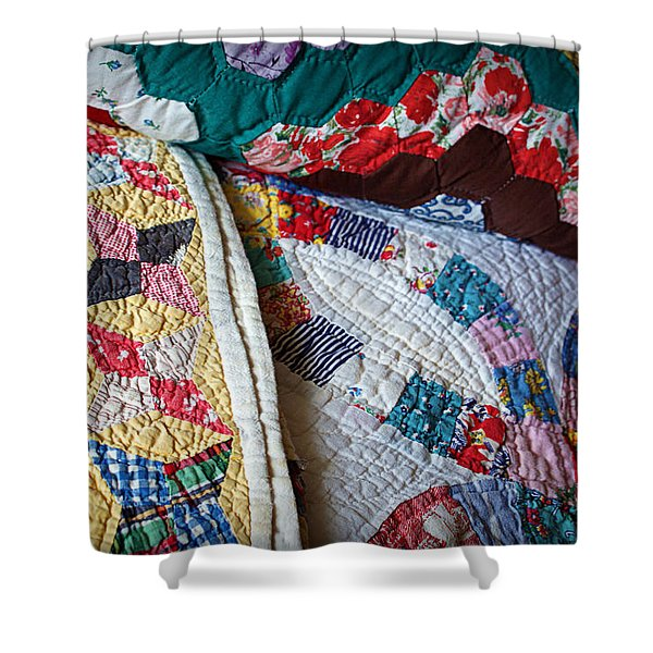 Quilted Comfort Shower Curtain