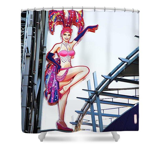 Quintessential Vegas Shower Curtain