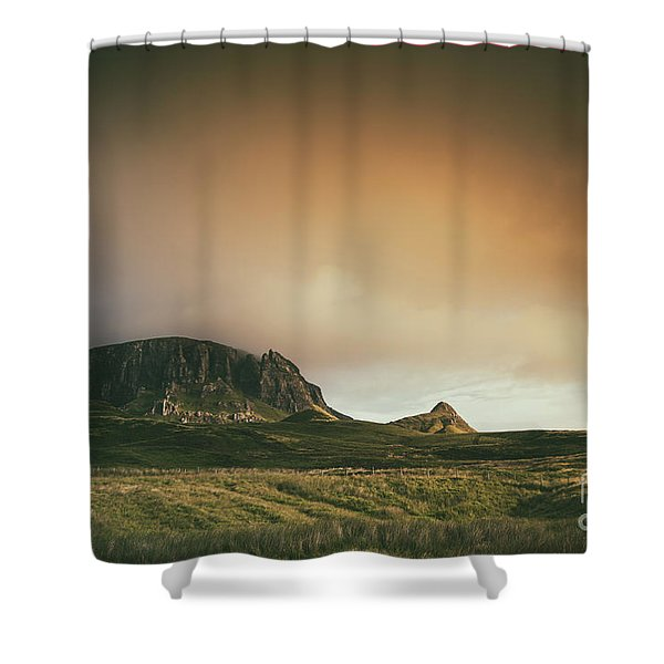 Quiraing Landscape 4 Shower Curtain