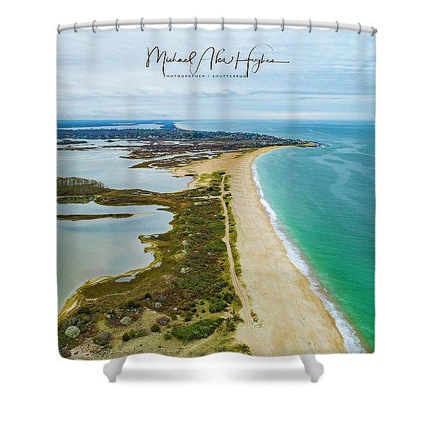 Quonochontaug Beach Shower Curtain
