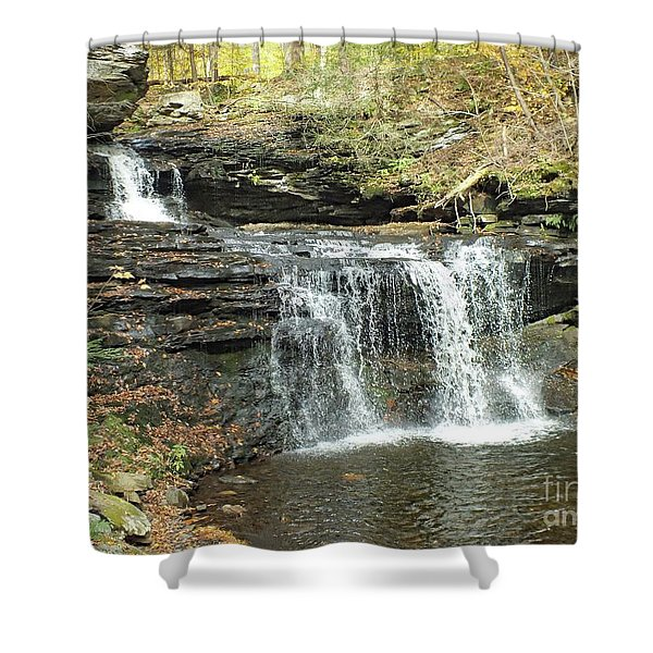 R. B. Ricketts 6 - Ricketts Glen Shower Curtain