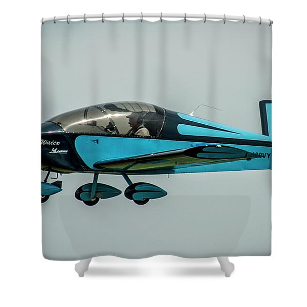Race 100 Vic Vicari Shower Curtain