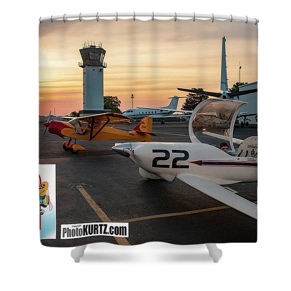 Race Day Arrives Shower Curtain