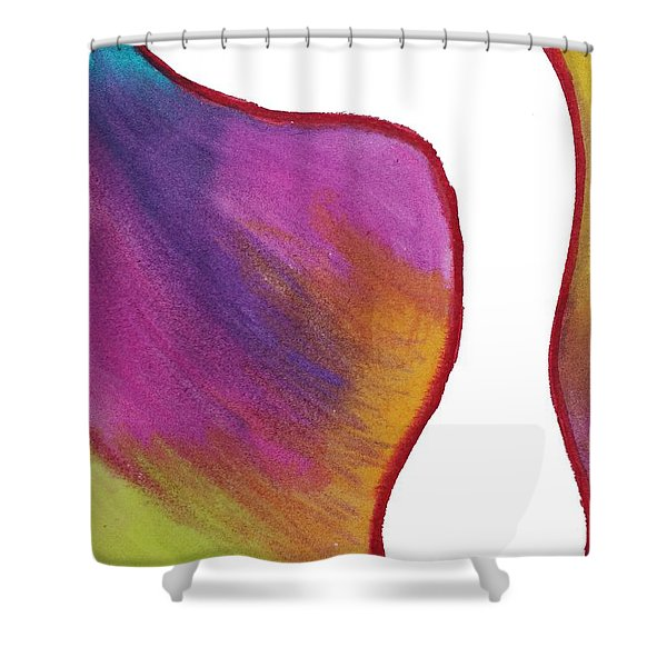 Radiant Resh Shower Curtain
