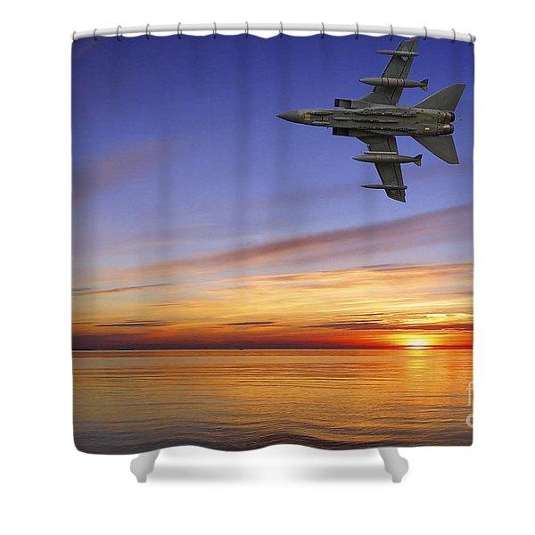 Raf Tornado Gr4 Shower Curtain