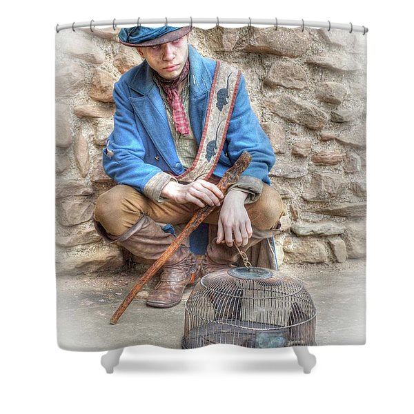 Ragged Victorians - The Rat Catcher Shower Curtain