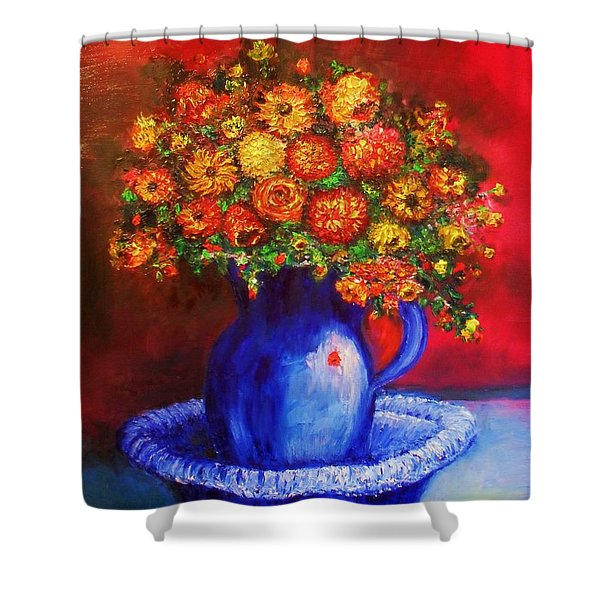 Shower Curtain featuring the photograph Rags by Laurie Lundquist