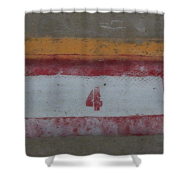 Railroad Art Shower Curtain