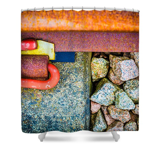 Railway Track. Shower Curtain