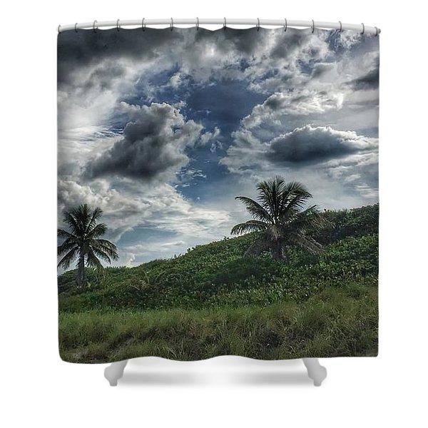 Rain Clouds Shower Curtain