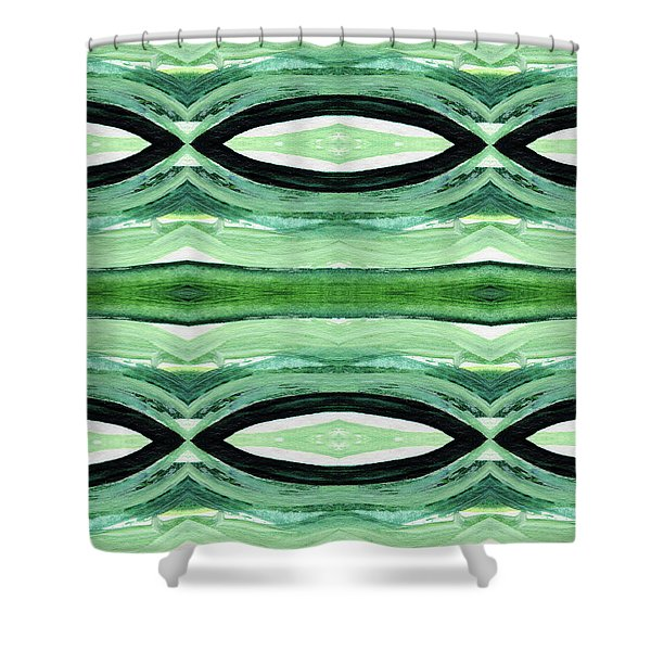 Rain Forest- Art By Linda Woods Shower Curtain