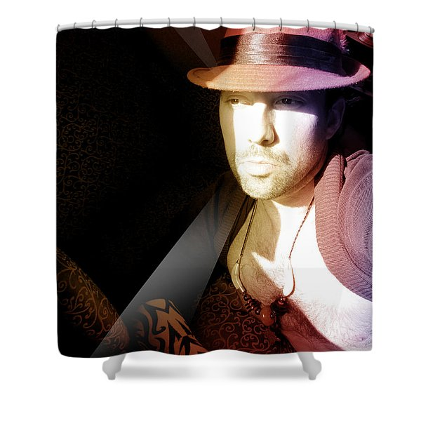 Rain Hat Shower Curtain
