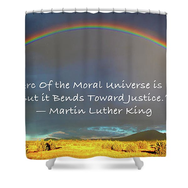 Martin Luther King - Justice Shower Curtain