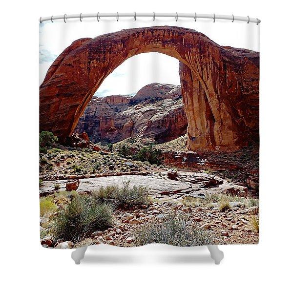 Rainbow Bridge National Monument Shower Curtain