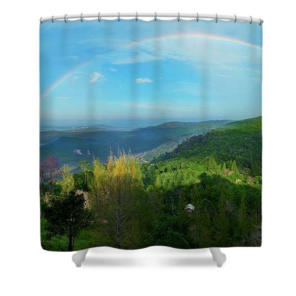 Rainbow Dream Shower Curtain