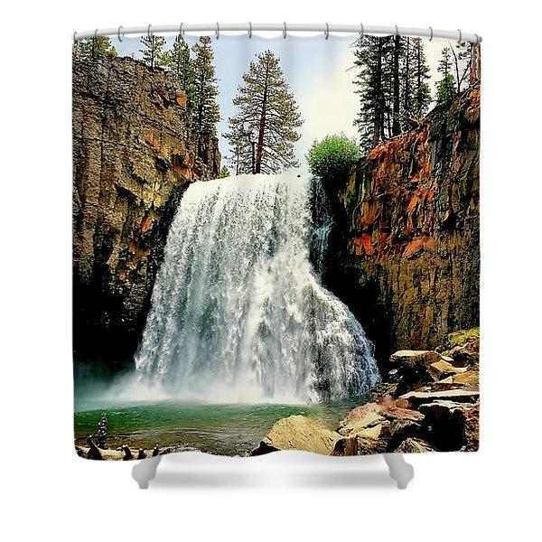 Rainbow Falls 8 Shower Curtain