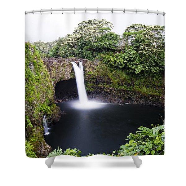 Rainbow Falls Shower Curtain
